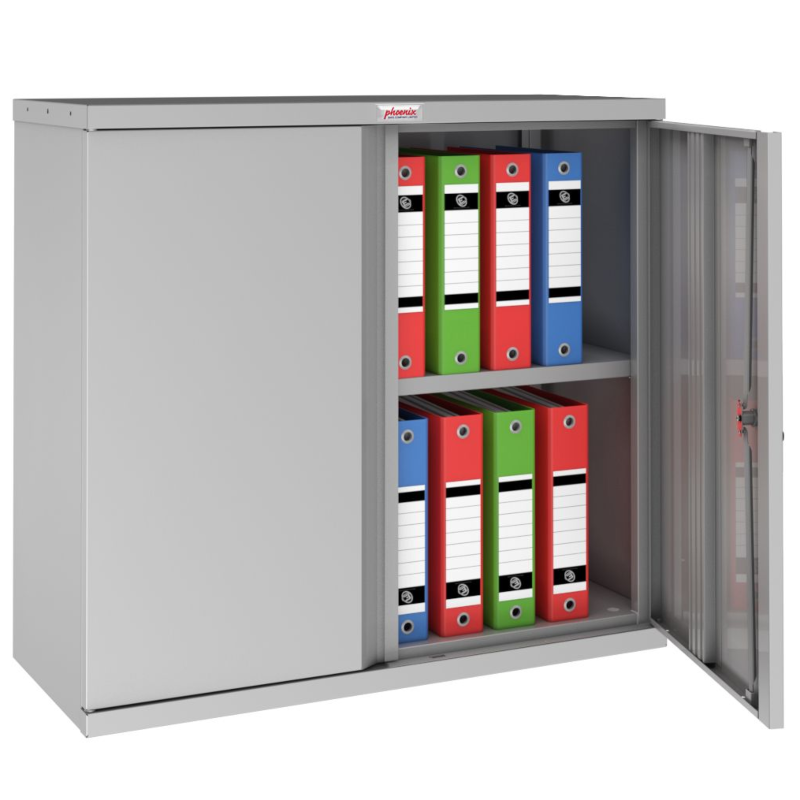 Phoenix SCL Steel Storage Cupboard Grey