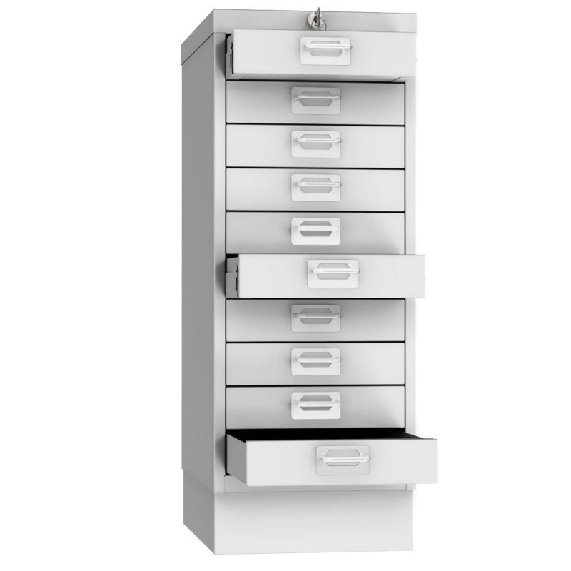 Phoenix MD0604G 10 Drawer Multidrawer Cabinet