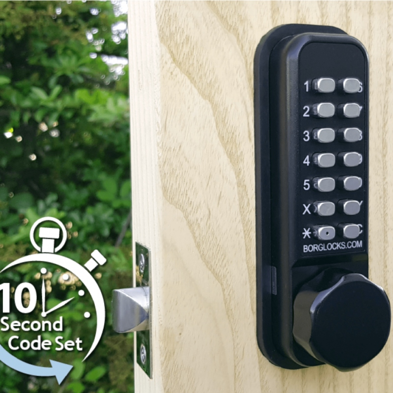 BORG LOCKS BL2601 ECP Marine Grade, Digital Lock With Optional Holdback
